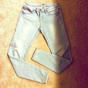 Foxy YMI Light Blue Wash Super Skinny Jeans
